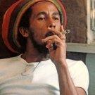 Bob Marle Smoke Reggae Music Singer Vintage 24x18 Print Poster