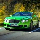 Bentley Continental GT Green Car 24x18 Print Poster