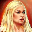 Game Of Thrones Daenerys Targaryen TV Series 24x18 Print Poster