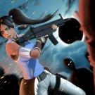 Avatar Korra Weapon Painting Art 24x18 Print Poster