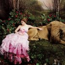 Fairy Tale Lion Cool Photo Art 24x18 Print Poster