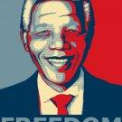 Nelson Mandela Freedom Art 24x18 Print Poster