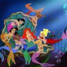 The Little Mermaid Walt Disney Art 24x18 Print Poster