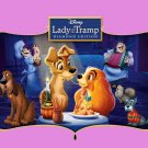 Lady And The Tramp Walt Disney Art 24x18 Print Poster