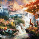 Bambi Beautiful Disney Art 24x18 Print Poster