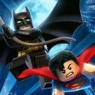 Batman Superman Lego Awesome Art 24x18 Print Poster