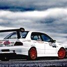 Mitsubishi Lancer Evolution Car 24x18 Print Poster