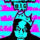 The Notorious B I G Biggie Smalls Art 24x18 Print Poster