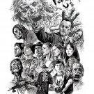 The Walking Dead TV Series Art 24x18 Print Poster