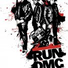Run DMC Hip Hop Music Art 24x18 Print Poster