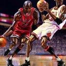 Michael Jordan Caricature Art NBA 24x18 Print Poster