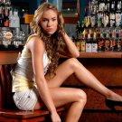 Veronika Fasterova Hot Model Bar Alcohol 24x18 Print Poster