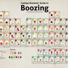 College Guide Boozing Periodic Table 24x18 Print Poster