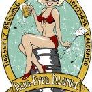 Bug Eyed Blonde Horsefly Cool Beer Logo 24x18 Print Poster