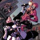 Spider Man Vs Punisher Marvel Comics Art 24x18 Print Poster