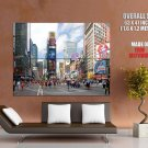 New York City Times Square Ny Huge Giant Print Poster