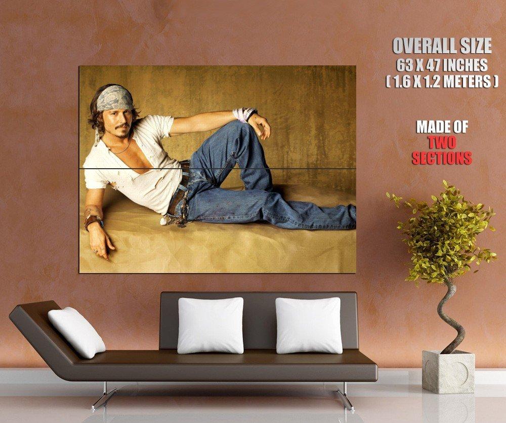 Johnny Depp Hot Actor Huge Giant Print Poster