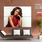 Whitney Houston Singer Music Huge Giant Print Poster