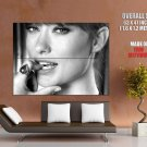 Olivia Wilde Hot Bw Portrait Huge Giant Print Poster