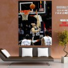 Manu Ginobili Layup Spurs Nba Huge Giant Print Poster