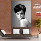 Rihanna Hot Singer Music Bw Huge Giant Print Poster