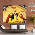 Dirk Nowitzki Vs Heat Nba Finals Huge Giant Print Poster