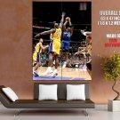 Michael Jordan Wizards Fadeaway Jumper Huge Giant Print Poster