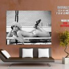 Lady Gaga Sexy Topless Hot Singer Huge Giant Print Poster