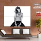 Emma Watson Hot Actress Bw Huge Giant Print Poster