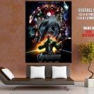 The Avengers Downey Hemsworth Johansson Renner Huge Giant Print Poster