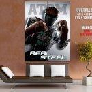 Real Steel Atom Robot Movie Huge Giant Print Poster