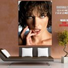 Milla Jovovich Hot Portrait Lips Sexy Huge Giant Print Poster
