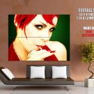 Pink Alecia Moore Hot Portrait Music Huge Giant Print Poster