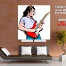 Guitar Solo Art Rock Music Huge Giant Print Poster