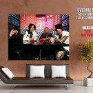 Motley Crue Bar Heavy Metal Hard Rock Music Huge Giant Print Poster