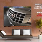 Cadillac Cts Coupe Macro Car Huge Giant Print Poster