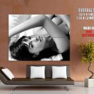 Monica Bellucci Sexy Bare Tits Hot Bw Huge Giant Print Poster