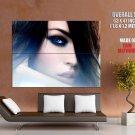 Megan Fox Beautiful Actress Eyes Face Huge Giant Print Poster