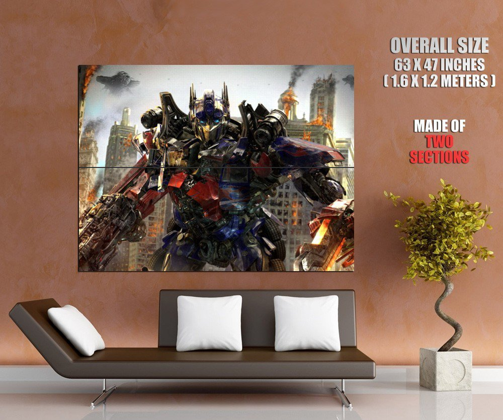 Optimus Prime Transformers Movie Art Huge Giant Print Poster