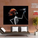 X Ray Skeleton Hairdryer Cool Art Huge Giant Print Poster