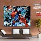 Superman Ds Comics Art Superhero Huge Giant Print Poster