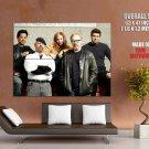Myth Busters Jamie Adam Tory Kari Grant Art Tv Huge Giant Print Poster