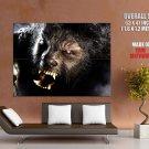 Wolfman Werewolf Horror Movie Huge Giant Print Poster