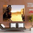 Soldier Iraq Landscare Military Huge Giant Print Poster