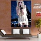 Taylor Momsen Singing Live Hot Huge Giant Print Poster