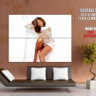 Eva Mendes Hot Netted Shirt Sexy Actress Huge Giant Print Poster