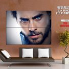Jared Leto Beard Portrait Rock Music Huge Giant Print Poster