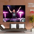 David Guetta Electro House Dj Music Huge Giant Print Poster