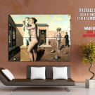 Paul Delvaux Pygmalion 1939 Abstract Painting Art Huge Giant Print Poster