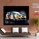 Seat Leon Wtcc 2006 Car Red Bull Huge Giant Print Poster